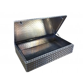 Aluminium Tub Lockable Storage Box