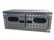 Aluminium Terrier Dog Box
