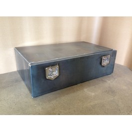 Raw Steel Underbody Front Opening Box